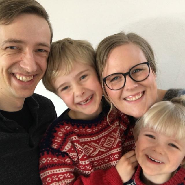 Elliot, Villiam, Tenna og David